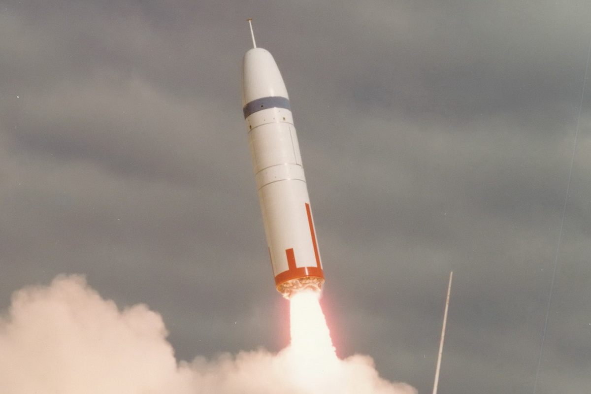 The Trident missile